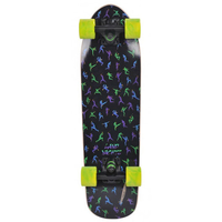 "LANDYACHTZ CRUISER SKATEBOARD COMPLETE - 26"" THINGY NINJA COMPLETE"