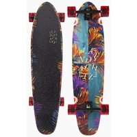 LANDYACHTZ LONGBOARD SKATEBOARD COMPLETE - MAPLE RIPPER TROPICAL