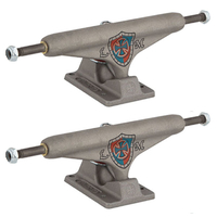INDEPENDENT SKATEBOARD TRUCKS MOUNTAIN RAW PEWTER 159 - HOLLOW - SET OF 2 TRUCKS