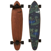 "OBFIVE HAWAIIAN NIGHTS 38"" LONGBOARD SKATEBOARD COMPLETE"