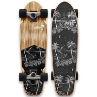 OBFIVE MIDNIGHT CRUISER SKATEBOARD COMPLETE