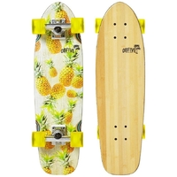 OBFIVE PINEAPPLE VIBES CRUISER SKATEBOARD COMPLETE -