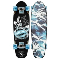 OBFIVE SURF YOUR SKATE CRUISER SKATEBOARD COMPLETE