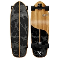OBFIVE SURF SKATE V2 RKP CRUISER SKATEBOARD COMPLETE - DARK WATERS