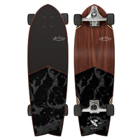 OBFIVE SURF SKATE CRUISER SKATEBOARD COMPLETE - DARK WATERS