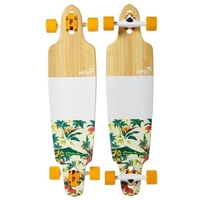 "OBFIVE TROPICA DROP THROUGH 38"" LONGBOARD SKATEBOARD COMPLETE"