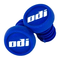 ODI BAR END PLUGS - SOLD AS PAIRS - BLUE