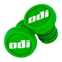 ODI BAR END PLUGS - SOLD AS PAIRS - LIME GREEN