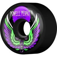 POWELL SKATEBOARD WHEELS - BOMBER BLACK - 60MM