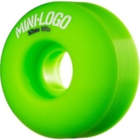 POWELL SKATEBOARD WHEELS - MINI LOGO GREEN - 52MM