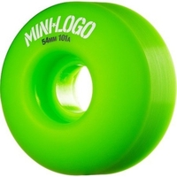 POWELL SKATEBOARD WHEELS - MINI LOGO GREEN - 54MM