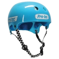 PROTEC BUCKY SKATE HELMET - SOLID GUMBALL BLUE - SIZE MEDIUM - SKATE SCOOTER