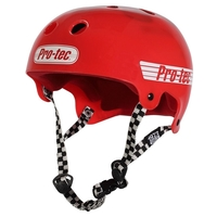 PROTEC BUCKY SKATE HELMET - SOLID RED - SIZE SMALL - SKATE SCOOTER