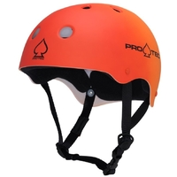 PROTEC CLASSIC SKATE HELMET - RED ORANGE FADE  - SIZE SMALL - SKATE SCOOTER