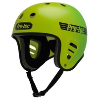PROTEC FULLCUT SKATE HELMET - YELLOW GREEN FADE - SIZE SMALL - SKATE SCOOTER