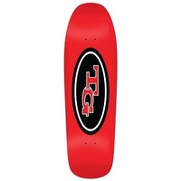 REAL SKATEBOARD DECK - TG REISSUE RED 9.77