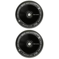 ROOT INDUSTRIES AIR 110MM WHEEL SET - BLACK PU BLACK CORE