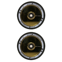 ROOT INDUSTRIES AIR 110MM WHEEL SET - BLACK GOLD RUSH CORE