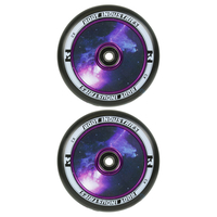 ROOT INDUSTRIES AIR 110MM WHEEL SET - BLACK GALAXY