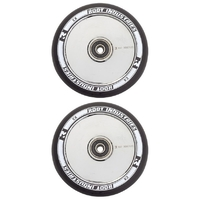 ROOT INDUSTRIES AIR 110MM WHEEL SET - BLACK PU MIRROR CORE