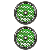 ROOT INDUSTRIES HONEY CORE 110MM WHEEL SET - BLACK PU GREEN