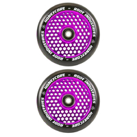ROOT INDUSTRIES HONEY CORE 110MM WHEEL SET - BLACK PU PURPLE