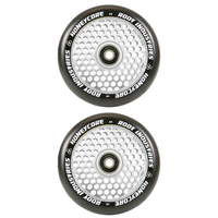 ROOT INDUSTRIES HONEY CORE 110MM WHEEL SET - BLACK PU MIRROR