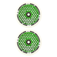 ROOT INDUSTRIES HONEY CORE 110MM WHEEL SET - WHITE PU GREEN