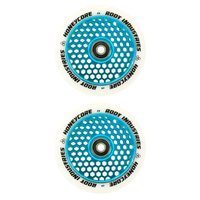 ROOT INDUSTRIES HONEY CORE 110MM WHEEL SET - WHITE PU LIGHT BLUE