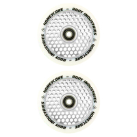 ROOT INDUSTRIES HONEY CORE 110MM WHEEL SET - WHITE PU MIRROR