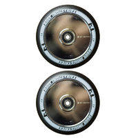 ROOT INDUSTRIES AIR 120MM WHEEL SET - BLACK PU MIRROR