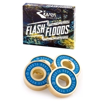 RIVER FLASH FLOODS SCOOTER BEARINGS - SET OF 4 WITH SPACERS