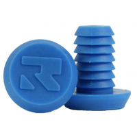 ROOT INDUSTRIES BAR ENDS PLUGS - SOLD AS PAIRS - SMALL BLUE
