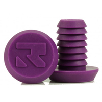 ROOT INDUSTRIES BAR ENDS PLUGS - SOLD AS PAIRS - SMALL PURPLE