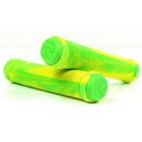 ROOT INDUSTRIES PREMIUM HAND GRIPS - GREEN YELLOW