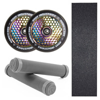 ROOT INDUSTRIES 110MM HONEYCORE WHEELS + GRIPS + GRIP TAPE COMBO PACK