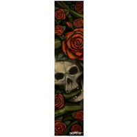 SACRIFICE SCOOTER GRIP TAPE - SKULL AND ROSES