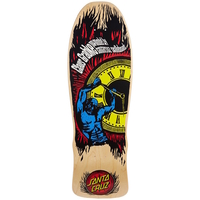 SANTA CRUZ GRABKE HOLD BACK TIME NATURAL SKATEBOARD DECK 10