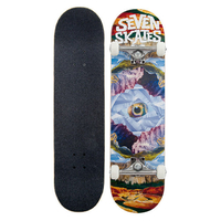 "SEVEN COMPLETE SKATEBOARDS 8.25"" - MOUNTAIN EYES"
