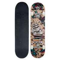 "SEVEN COMPLETE SKATEBOARD 7.8"" - TATTOO FLASH NATURAL"