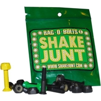 SHAKE JUNT SKATEBOARD HARDWARE BAG O' BOLTS ALLEN KEY 7/8 INCH
