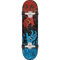 SANTA CRUZ COMPLETE SKATEBOARD - FIRE AND ICE 7.8""