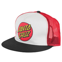 SANTA CRUZ - CLASSIC DOT HAT - 5 PANEL ADJUSTABLE