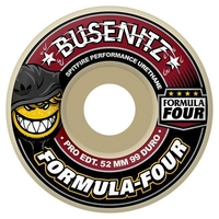 SPITFIRE SKATEBOARD WHEELS - FORMULA FOUR CLASSIC BUSENITZ- 52MM - 99D