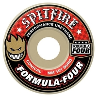 SPITFIRE SKATEBOARD WHEELS - FORMULA FOUR CONICAL - 54MM - 101D