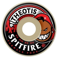 SPITFIRE SKATEBOARD WHEELS - F4 HOTBOX THEOTS - 52MM - 99D