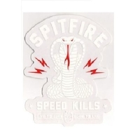 SPITFIRE - SPEED KILLS STICKER V2