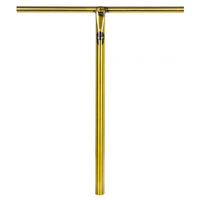 SUPREMACY TROJAN SCOOTER BARS - 700MM - TRANS GOLD