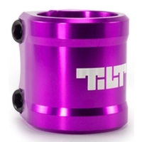 TILT ARC DOUBLE CLAMP - PURPLE