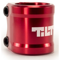 TILT ARC DOUBLE CLAMP - RED
